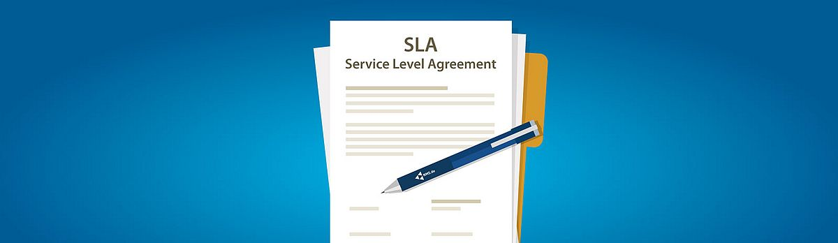 SLA Service Level Agreement von NMS